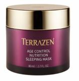 Омолаживающая питательная ночная маска для лица с природным комплексом против морщин Terrazen AGE CONTROL NUTRITION SLEEPING MASK 80ml