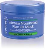 Concept маска питательная с льняным маслом для окрашенныхашенных и осветленных волос Intense nourishing Mask with flax oil
