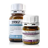 Oxford Biolabs TRX2® Набор диетических добавок от выпадения волос у женщин в период постменопаузы: TRX2® и Post Menopause 90 капсул (50 г) и 60 капсул (42 г)