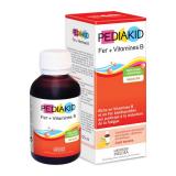 PK07 Pediakid Сироп для преодоления анемии и снятия усталости: Фер + витамины В / FER + VITAMINES B SIROP 125 мл