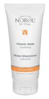 Norel DN Multivitamin - Nouriching vitamin mask - питательная маска с комплексом витаминов и коэнзимом Q10 кремо-гелевой текстуры 100 мл