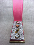 Брендовый Набор миниатюр Revillon Detchema 2ml+F.Millot Crepe de Chine 2ml+Revillon Carnet de Bal 2ml+F.MiLLot LInsolent 2ml Набор МИНИ ПАРФЮМОВ 3*2ml