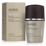 Ahava Dead Sea Mineral Deodorant 50ml for Men Минеральный роликовый дезодорант мужской 50мл 697045155651