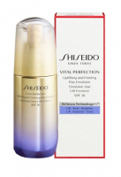 Shiseido Эмульсия для лица Vital Perfection Uplifting and Firming Day Emulsion SPF30 омолаживающая дневная 75ml