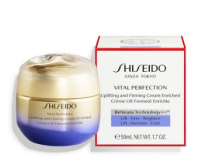 Shiseido Крем для лица Vital Perfection Uplifting and Firming Cream Enriched восстанавливающий, разглаживающий универсальный 50ml