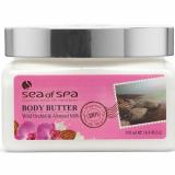 Сливки для тела с ароматом Орхидея и Миндаль Sea of Spa Body Scrub Wild Orchid & Almond Milk 350мл 7290012934346