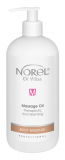 Norel Therapeutic and warming massage oil - разогревающее массажное масло 500мл