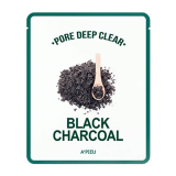 APIEU Pore Deep Clear Black Charcoal Mask 8806185776219