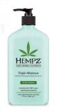Hempz Triple Moisture Herbal Whipped Body Creme Нежный крем для тела тройного действия с растительными экстрактами