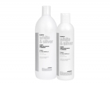 Glossco Professional WHITE AND SILVER SHAMPOO/Шампунь анти-желтый