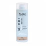 Kapous Professional Питательный оттеночный бальзам для оттенков блонд серии Blond Bar